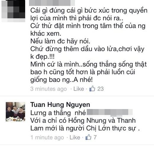 """Được Mỹ Linh nhắn nhủ, Tuấn Hưng tuyên bố chỉ coi Lam-Nhung là """"đàn chị"""" - Ảnh 3"""