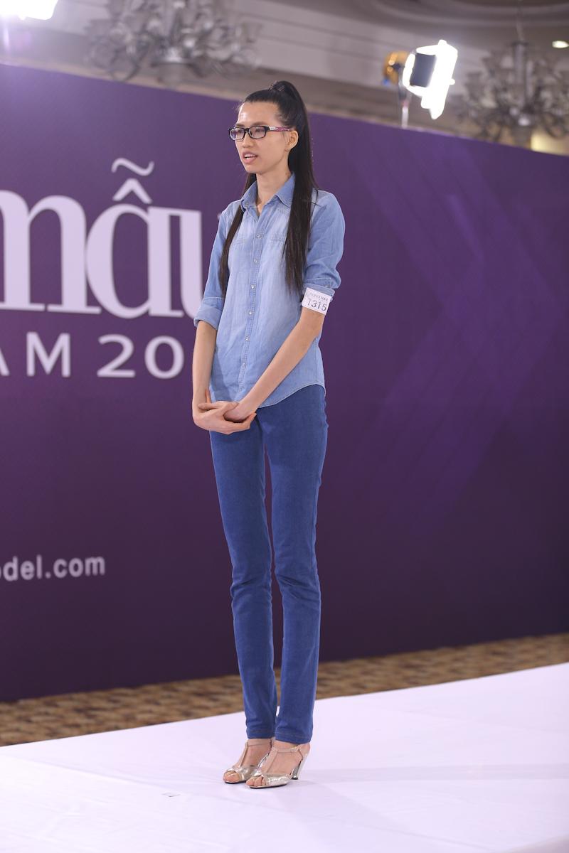 """Tiết lộ thú vị về 2 thí sinh có chiều cao """"khủng"""" nhất Vietnam's Next Top Model  - Ảnh 4"""