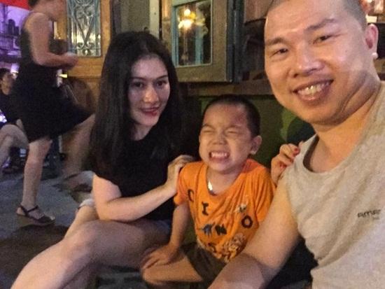 """Cận cảnh nhan sắc vợ trẻ của diễn viên """"đầu gấu"""" nhất Việt Nam - Ảnh 3"""