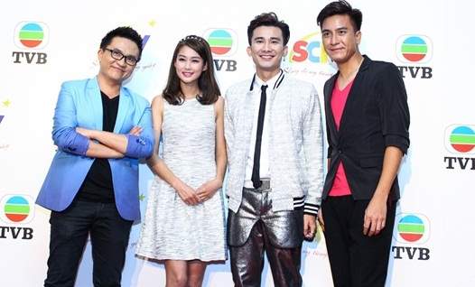 Sao TVB Mã Quốc Minh và Sầm Lệ Hương đến Việt Nam - Ảnh 2