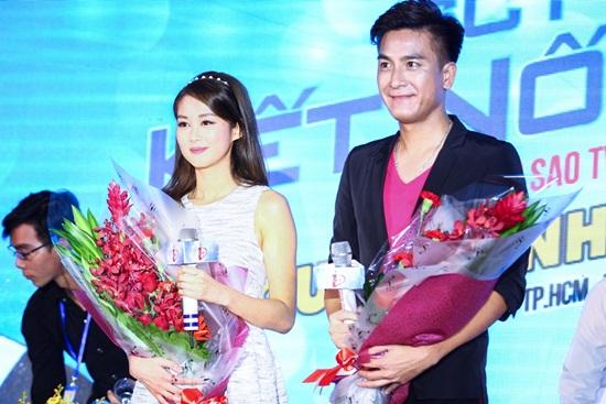 Sao TVB Mã Quốc Minh và Sầm Lệ Hương đến Việt Nam - Ảnh 5