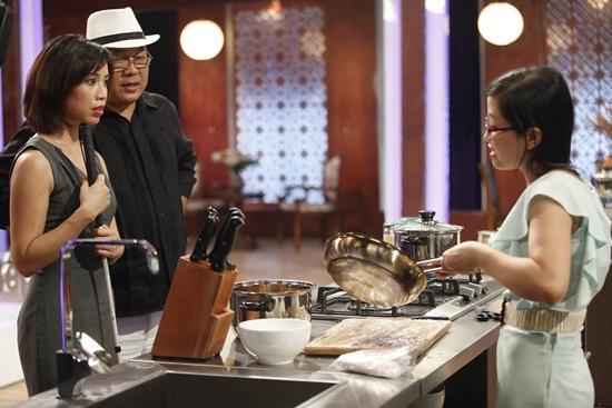 Vua đầu bếp 2015 tập 1: Christine Hà và Hoàng Khải bất đồng ý kiến - Ảnh 5