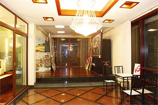 Ngôi nhà lung linh ánh đèn giữa Thủ đô của Hồ Quỳnh Hương - Ảnh 3