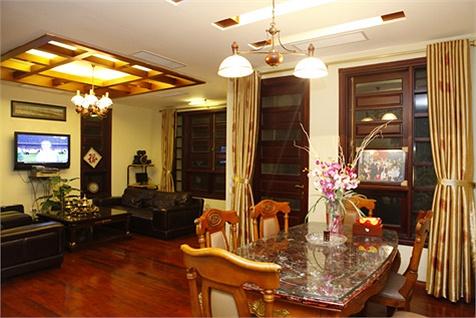 Ngôi nhà lung linh ánh đèn giữa Thủ đô của Hồ Quỳnh Hương - Ảnh 5