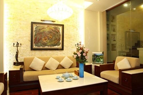 Ngôi nhà lung linh ánh đèn giữa Thủ đô của Hồ Quỳnh Hương - Ảnh 4
