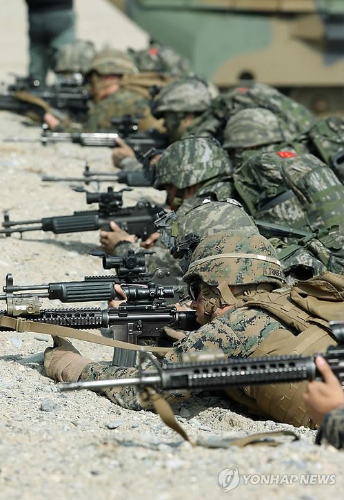 Hàng ngàn binh sỹ Mỹ - Hàn đổ bộ lên Pohang - Ảnh 2