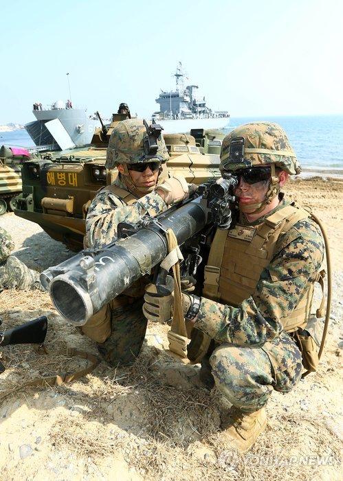 Hàng ngàn binh sỹ Mỹ - Hàn đổ bộ lên Pohang - Ảnh 3