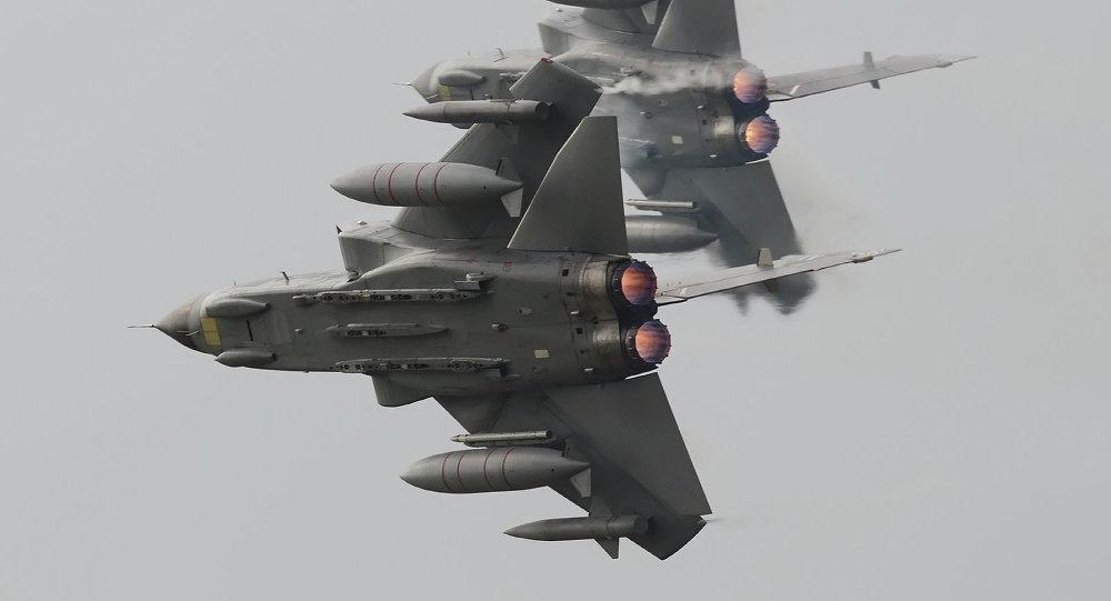 Phản ứng với Nga, Không quân Anh diễn tập lớn nhất trong 13 năm qua - Ảnh 1