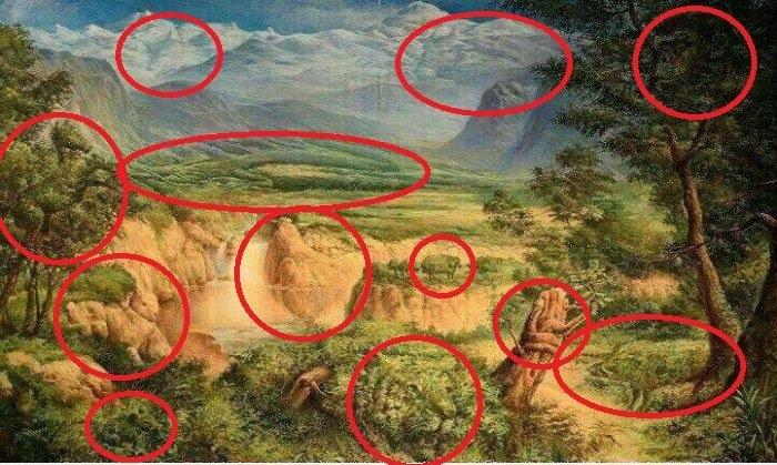 Bức tranh ẩn giấu 12 con vật khiến các 'thánh đoán' hoa mắt - Ảnh 2
