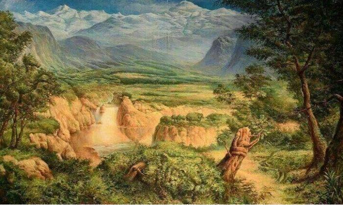 Bức tranh ẩn giấu 12 con vật khiến các 'thánh đoán' hoa mắt - Ảnh 1
