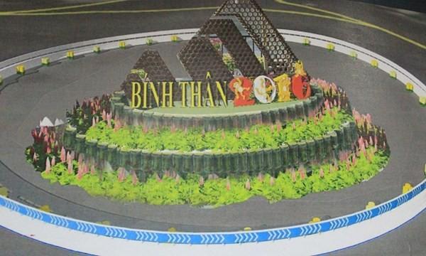 Đà Nẵng đầu tư 6,5 tỷ trang trí đường hoa và điện chiếu sáng dịp Tết 2016 - Ảnh 1