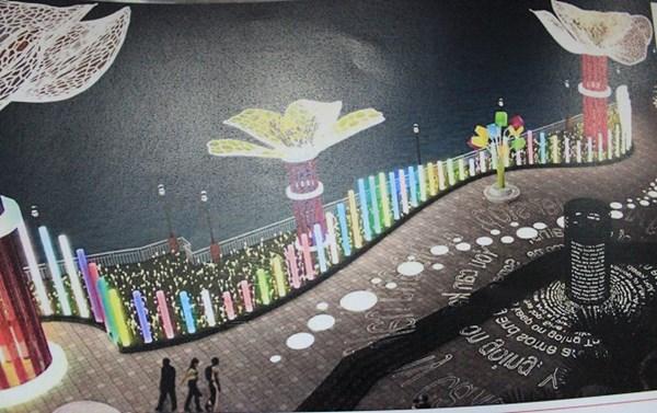 Đà Nẵng đầu tư 6,5 tỷ trang trí đường hoa và điện chiếu sáng dịp Tết 2016 - Ảnh 2