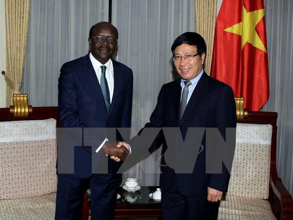 Phó Thủ tướng, Bộ trưởng Ngoại giao tiếp Tổng Thư ký UNCTAD - Ảnh 1