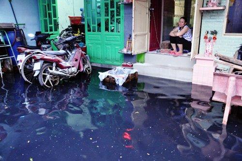 Người Sài Gòn lại khổ sở dọn bùn đen do mưa lớn - Ảnh 4
