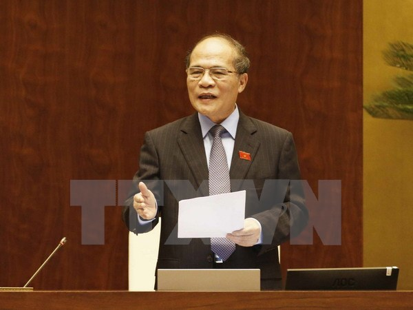 Lần đầu tiên Chủ tịch Quốc hội trả lời chất vấn các đại biểu - Ảnh 1