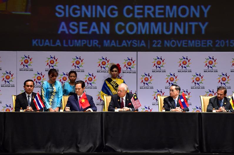 Dấu mốc lịch sử của ASEAN - Ảnh 1
