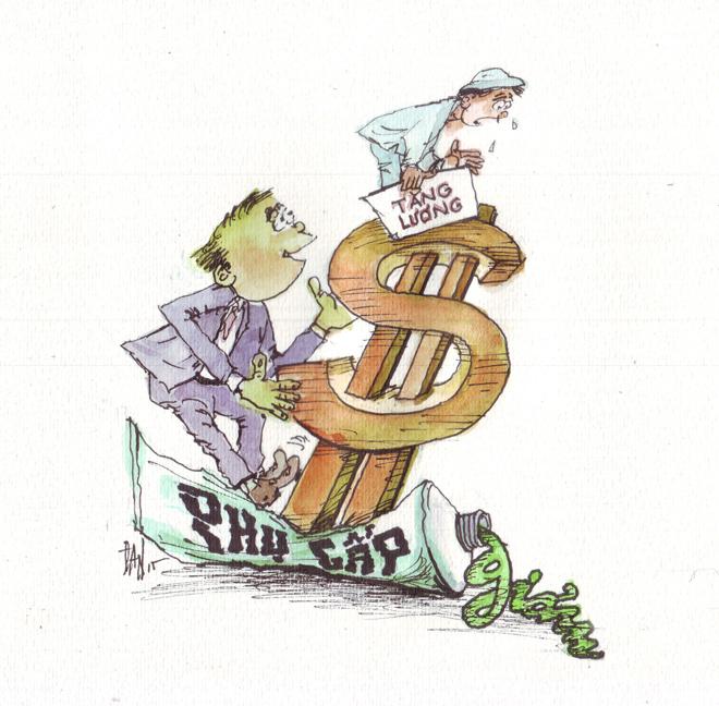 Tăng lương tối thiểu: DN không được cắt chế độ của người lao động - Ảnh 1