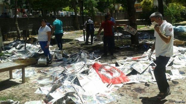 Thổ Nhĩ Kỳ: IS đánh bom cảm tử khiến 28 người chết - Ảnh 1