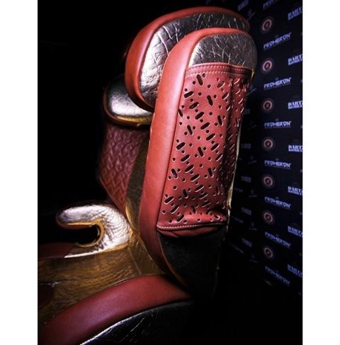Chiêm ngưỡng ghế em bé trên xe chống đạn đắt nhất thế giới - Ảnh 2