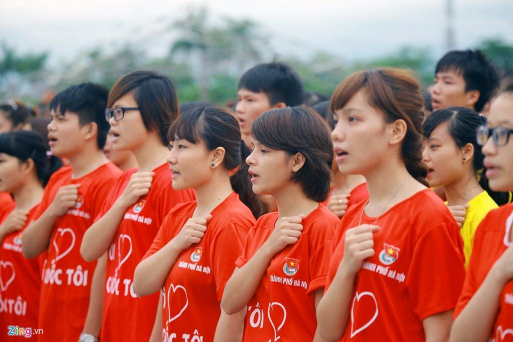 12.000 bạn trẻ xếp hình bản đồ Việt Nam - Ảnh 4