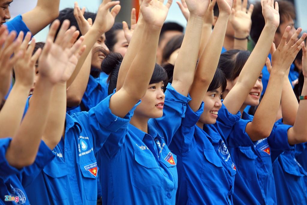 12.000 bạn trẻ xếp hình bản đồ Việt Nam - Ảnh 8