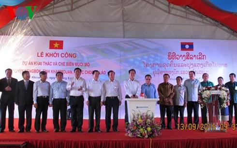 Thủ tướng dự lễ khởi công dự án đầu tư lớn nhất của Việt Nam tại Lào - Ảnh 2