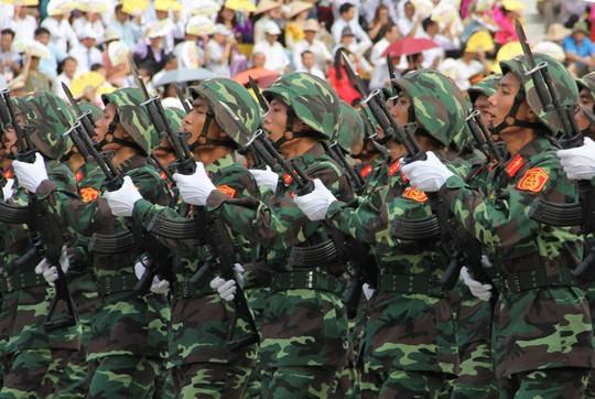 Lực lượng Quân đội Nhân dân Việt Nam diễu binh, diễu hành ngày 2/9 - Ảnh 5