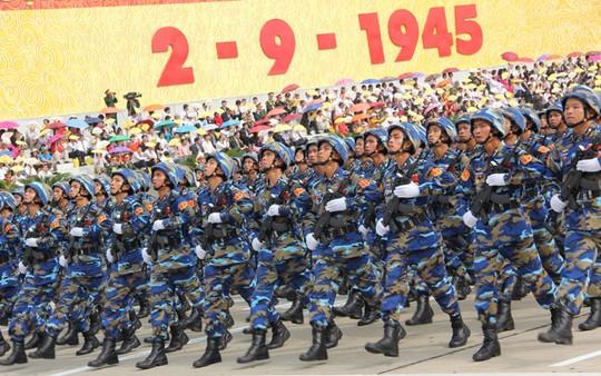 Lực lượng Quân đội Nhân dân Việt Nam diễu binh, diễu hành ngày 2/9 - Ảnh 6