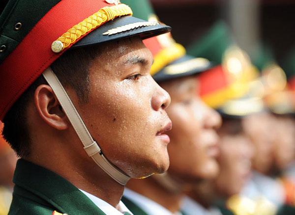 Lực lượng Quân đội Nhân dân Việt Nam diễu binh, diễu hành ngày 2/9 - Ảnh 3