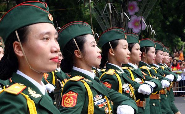 Lực lượng Quân đội Nhân dân Việt Nam diễu binh, diễu hành ngày 2/9 - Ảnh 4
