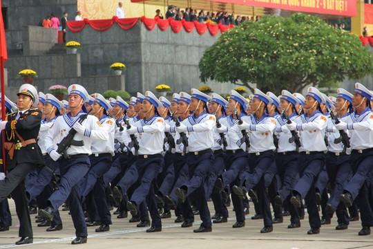 Lực lượng Quân đội Nhân dân Việt Nam diễu binh, diễu hành ngày 2/9 - Ảnh 7