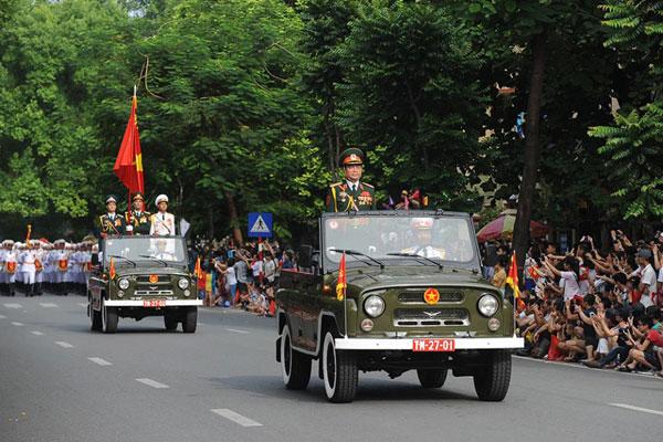 Lực lượng Quân đội Nhân dân Việt Nam diễu binh, diễu hành ngày 2/9 - Ảnh 8