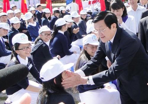 Chủ tịch nước chúc mừng ngành giáo dục dịp khai giảng - Ảnh 1