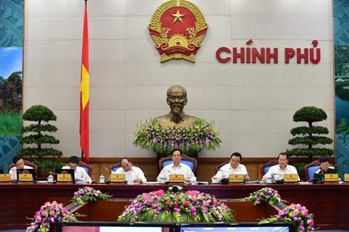 Nghị quyết phiên họp Chính phủ thường kỳ tháng 8/2015 - Ảnh 1