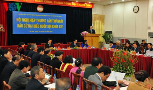 Hôm nay, Hội nghị Hiệp thương lần 2 giới thiệu người ứng cử ĐBQH - Ảnh 1