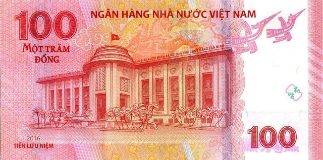 Chính thức bắt đầu bán tờ tiền lưu niệm 100 đồng - Ảnh 1