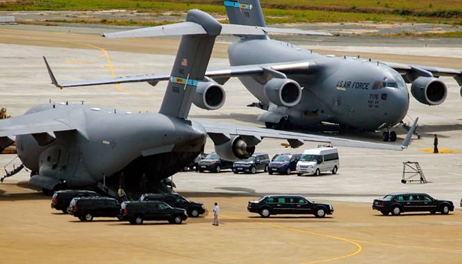 Đón Tổng thống Obama, sân bay Tân Sơn Nhất huy động hơn 1.000 người - Ảnh 2