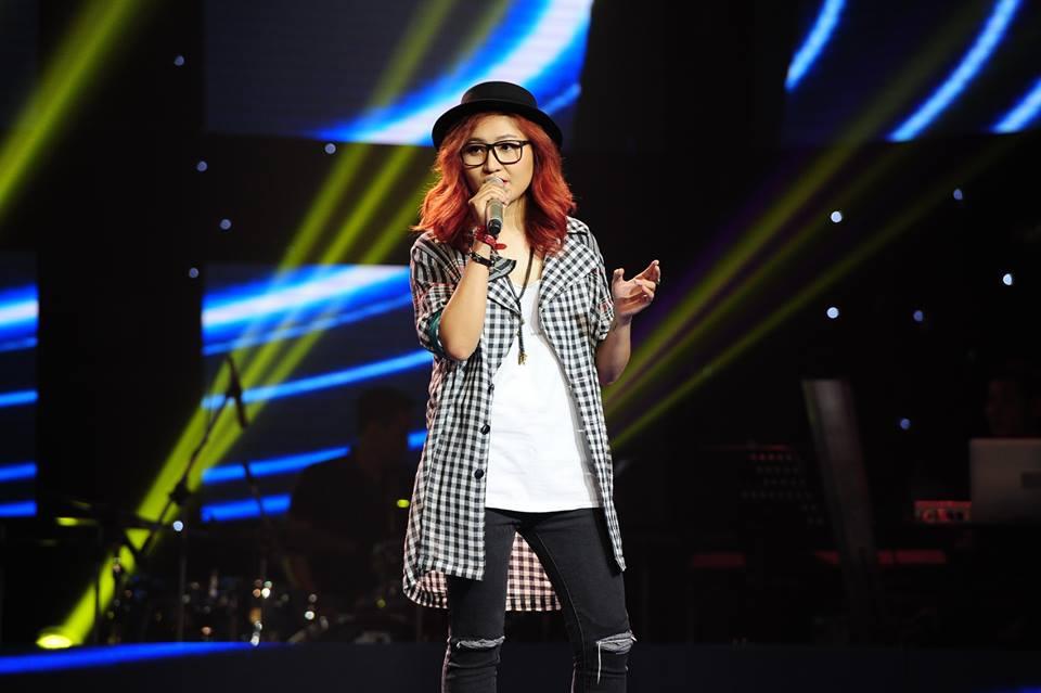 """Vicky Nhung The Voice """"kể khổ"""" về những ngày đầu đi hát - Ảnh 1"""