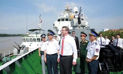 Mỹ cam kết hỗ trợ Việt Nam 18 triệu USD mua tàu tuần tra cao tốc - Ảnh 1