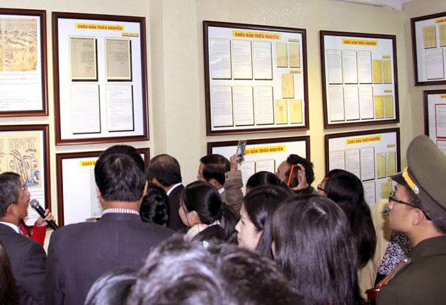 Lâm Đồng: Triển lãm bản đồ và tư liệu về Hoàng Sa, Trường Sa - Ảnh 3