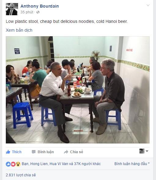 Chủ quán bún chả đón ông Obama: 'Tôi vô cùng bất ngờ' - Ảnh 2