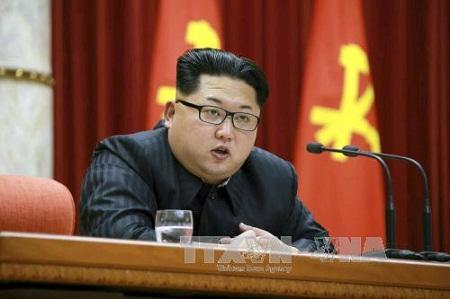Ông Kim Jong Un được bầu làm Chủ tịch Đảng Lao động Triều Tiên - Ảnh 1