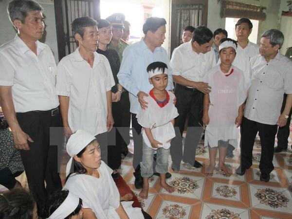 Bộ Công an gửi lời chia buồn, hỗ trợ các gia đình vụ điện giật 5 người chết - Ảnh 1