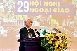 Phát biểu của Tổng Bí thư tại Hội nghị Ngoại giao lần thứ 29 - Ảnh 1