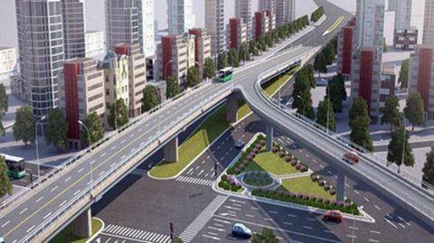 Xây cầu vượt thép hơn 400 tỷ đồng ở ngã sáu Gò Vấp - Ảnh 1