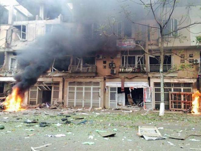 Nguyên nhân ban đầu vụ nổ lớn tại KĐT Văn Phú, Hà Đông - Ảnh 1