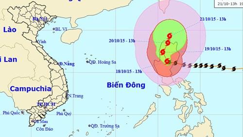 Siêu bão 'Miệng núi lửa' không có khả năng ảnh hưởng đến nước ta - Ảnh 1