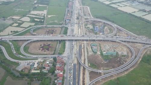 Thông xe nút giao cầu Thanh Trì với Quốc lộ 5 - Ảnh 1