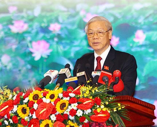 Phát biểu của Tổng Bí thư Nguyễn Phú Trọng tại Đại hội Đảng bộ Hà Nội lần thứ 16 - Ảnh 1