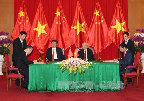 Việt Nam – Trung Quốc ký kết nhiều văn bản, thỏa thuận hợp tác - Ảnh 1